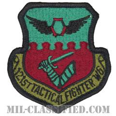 第121戦術戦闘航空団(121st Tactical Fighter Wing)[サブデュード/メロウエッジ/パッチ]の画像
