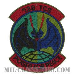 第728戦術統制隊(728th Tactical Control Squadron)[サブデュード/カットエッジ/パッチ]の画像