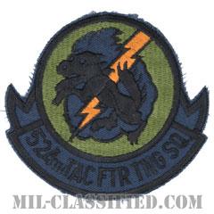 第524戦術戦闘訓練隊(524th Tactical Fighter Training Squadron)[サブデュード/カットエッジ/パッチ]の画像