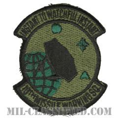 第10ミサイル警戒隊(10th Missile Warning Squadron)[サブデュード/カットエッジ/パッチ]の画像