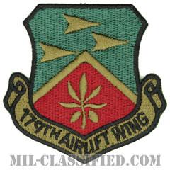 第179空輸航空団(179th Airlift Wing)[サブデュード/カットエッジ/パッチ]の画像