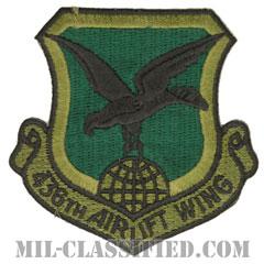 第436空輸航空団(436th Airlift Wing)[サブデュード/カットエッジ/パッチ]の画像