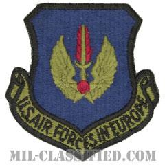 在欧アメリカ空軍(Air Forces In Europe Command)[サブデュード/カットエッジ/パッチ]の画像