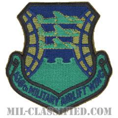 第438兵員空輸航空団(438th Military Airlift Wing)[サブデュード/カットエッジ/パッチ]の画像