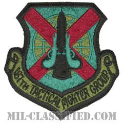 第187戦術戦闘群(187th Tactical Fighter Group)[サブデュード/カットエッジ/パッチ]の画像
