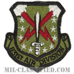 第831航空師団(831st Air Division)[サブデュード/カットエッジ/パッチ]の画像
