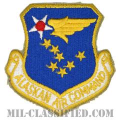 アラスカ航空軍団(Alaskan Air Command)[カラー/カットエッジ/パッチ]の画像