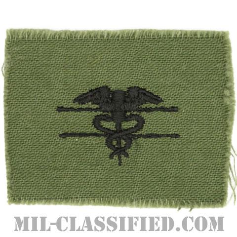 優秀医療章(Expert Field Medical Badge)[サブデュード/1960s/コットン100%/パッチ]の画像
