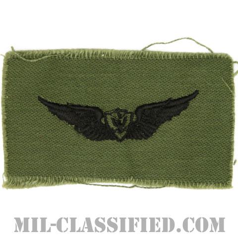 航空機搭乗員章 (ベーシック・エアクルー)(Army Aviation Badge (Aircrew), Basic)[サブデュード/1960s/コットン100%/パッチ]の画像