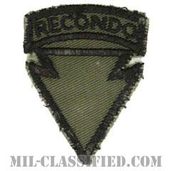 第4歩兵師団リコンドースクール(4th Infantry Division Recondo School)[サブデュード/カットエッジ/パッチ/中古1点物]の画像