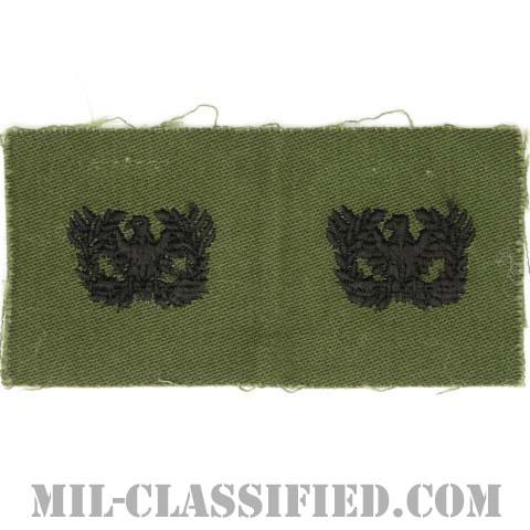 准尉章(Warrant Officers)[サブデュード/1960s/コットン100%/パッチ/ペア(2枚1組)]の画像