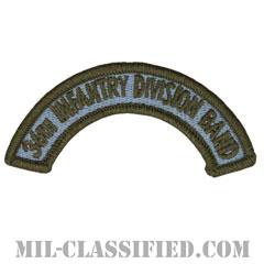 第36歩兵師団音楽隊タブ(36th Infantry Division Band Tab)[カラー/メロウエッジ/パッチ]の画像