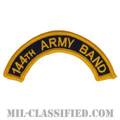 第144音楽隊タブ(144th Army Band Tab)[カラー/メロウエッジ/パッチ]の画像