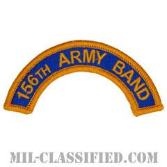 第156音楽隊タブ(156th Army Band Tab)[カラー/メロウエッジ/パッチ]の画像