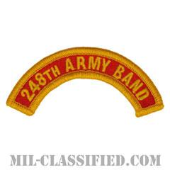第248音楽隊タブ(248th Army Band Tab)[カラー/メロウエッジ/パッチ]の画像