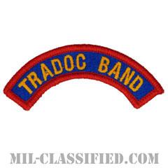 訓練規律コマンド音楽隊タブ(Training and Doctrine Command Band Tab)[カラー/メロウエッジ/パッチ]の画像