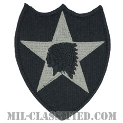第2歩兵師団(2nd Infantry Division)[UCP(ACU)/メロウエッジ/ベルクロ付パッチ]画像