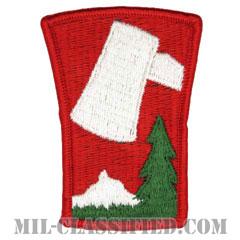 第70歩兵師団(70th Infantry Division)[カラー/メロウエッジ/パッチ]の画像