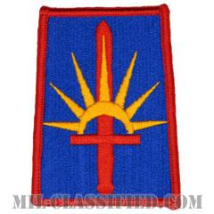ニューヨーク州 州兵(National Guard, New York)[カラー/メロウエッジ/パッチ]の画像