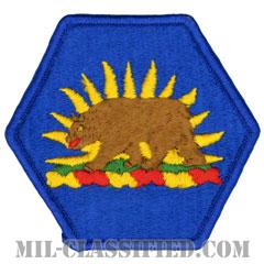 カリフォルニア州 州兵(National Guard, California)[カラー/メロウエッジ/パッチ]の画像