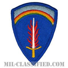 欧州アメリカ陸軍(U.S. Army Europe)[カラー/メロウエッジ/パッチ]の画像