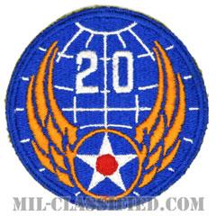 第20空軍(20th Air Force)[カラー/カットエッジ/パッチ]の画像