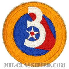 第3空軍(3rd Air Force)[カラー/カットエッジ/パッチ]の画像