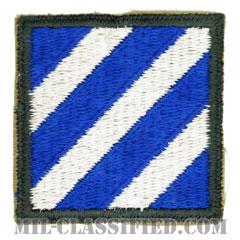 第3歩兵師団(3rd Infantry Division)[カラー/カットエッジ/パッチ]の画像