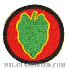 第24歩兵師団(24th Infantry Division)[カラー/カットエッジ/パッチ]の画像