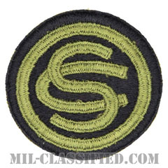 幹部候補生学校(Officer Candidate School)[カラー/カットエッジ/パッチ]の画像