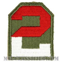 第2軍(2nd Army)[カラー/カットエッジ/パッチ]の画像