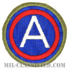 第3軍 (グリーンバック)(3rd Army)[カラー/カットエッジ/パッチ]の画像