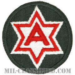 第6軍(6th Army)[カラー/カットエッジ/パッチ]の画像