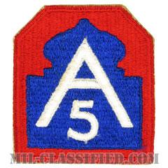 第5軍(5th Army)[カラー/カットエッジ/パッチ]の画像