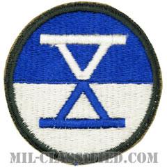 第10軍団(10th Corps)[カラー/カットエッジ/パッチ]の画像