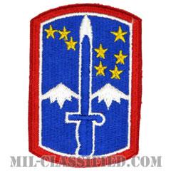 第172歩兵旅団(172nd Infantry Brigade)[カラー/カットエッジ/パッチ]の画像