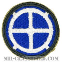 第35歩兵師団(35th Infantry Division)[カラー/カットエッジ/パッチ]の画像