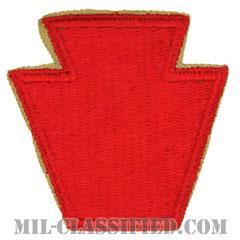 第28歩兵師団(28th Infantry Division)[カラー/カットエッジ/パッチ]の画像