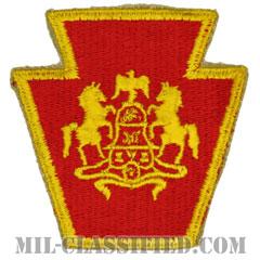 ペンシルベニア州 州兵(National Guard, Pennsylvania)[カラー/カットエッジ/パッチ]の画像