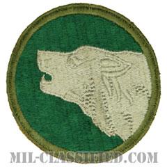 第104訓練師団(104th Training Division)[カラー/カットエッジ/パッチ]の画像