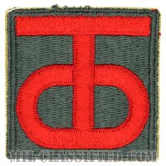 第90歩兵師団(90th Infantry Division)[カラー/カットエッジ/パッチ]の画像