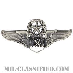 宇宙航空士章 (マスター)(Astronaut Navigator Badge, Master)[カラー/燻し銀/バッジ]の画像