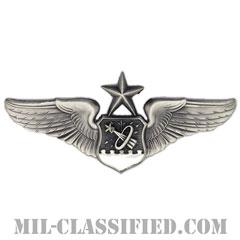宇宙航空士章 (シニア)(Astronaut Navigator Badge, Senior)[カラー/燻し銀/バッジ]の画像