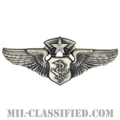 航空看護士章 (チーフ)(Flight Nurse Badge, Chief)[カラー/燻し銀/バッジ]の画像