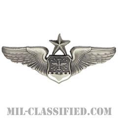 航空士章 (ナビゲーター・シニア)(Navigator/Observer Badge, Senior)[カラー/燻し銀/バッジ]の画像
