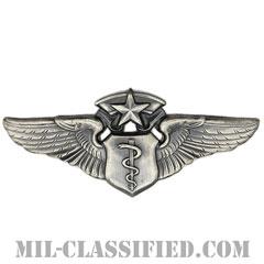 飛行医師章 (チーフ)(Flight Surgeon Badge, Chief)[カラー/燻し銀/バッジ]の画像