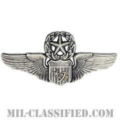 宇宙飛行士章 (コマンド)(Astronaut Pilot Badge, Command)[カラー/燻し銀/バッジ]の画像
