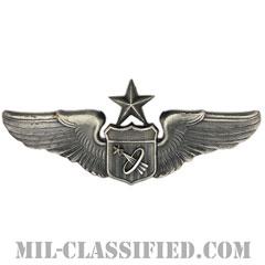 宇宙飛行士章 (シニア)(Astronaut Pilot Badge, Senior)[カラー/燻し銀/バッジ]の画像