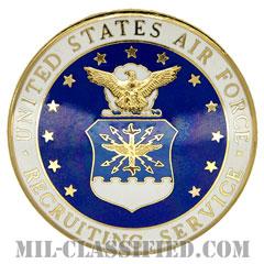 空軍募兵章(Air Force Recruiting Service Badge)[カラー/バッジ]の画像