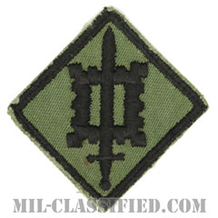 第18工兵旅団(18th Engineer Brigade)[サブデュード/カットエッジ/パッチ/中古1点物]の画像